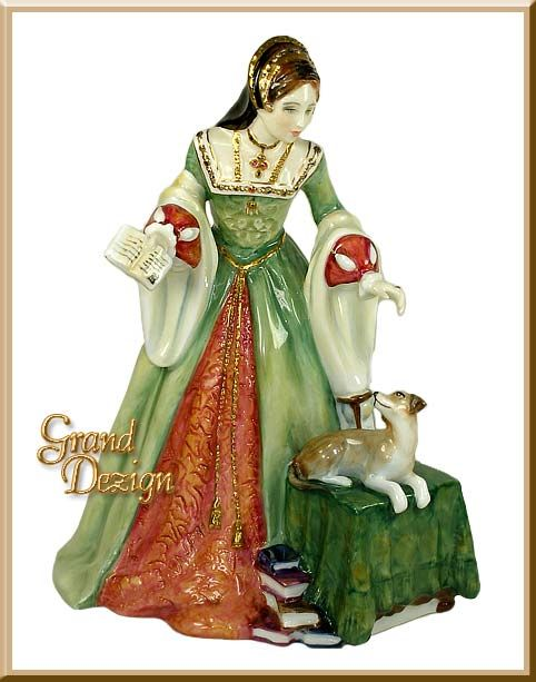 Lady Jane Grey HN3680 figurine by Royal Doulton, a Historic and Royalty figurine at www.GrandDezign, Royal Doulton figurine specialists.