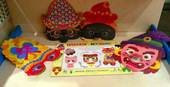 libro gioco - MASCHERE DA INDOSSARE Edizioni del Baldo - by irene mazza