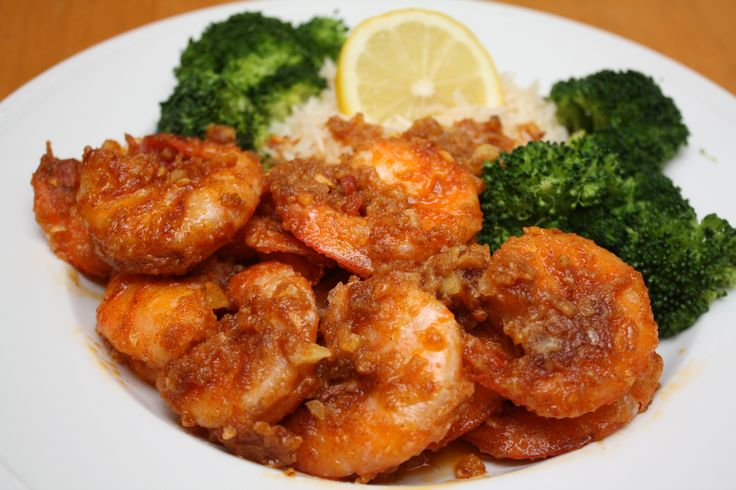 Hawaiian Garlic Shrimp. Tastes exactly like the shrimp from Giovanni's Shrimp Truck on the North Shore that I've been going to since I was a kid. My boyfriend told me it was the best shrimp he's ever had!