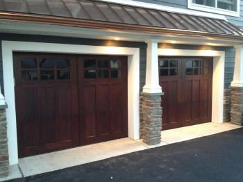 Best 25 craftsman garage door ideas on pinterest garage for Carriage style garage doors prices