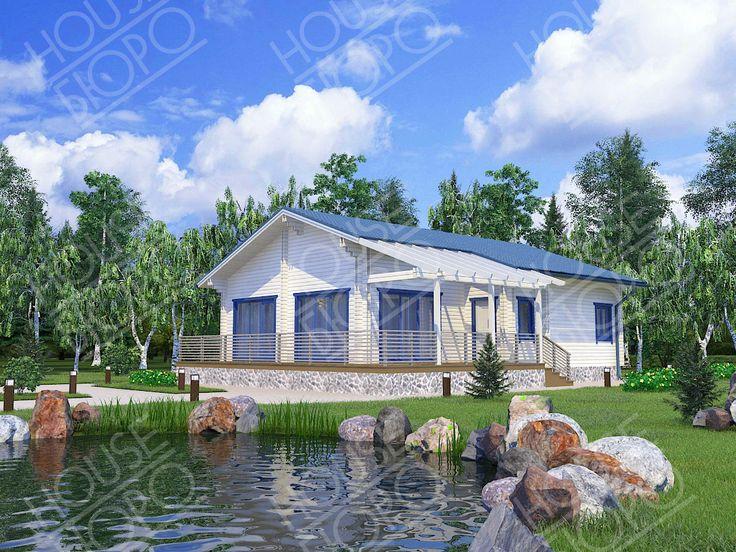 """Дом 118 м.кв. Стоимость данного дома в комплектации """"Стандарт"""" 2.161.385 р."""