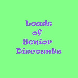 Lets Start Saving Now: Senior Discounts List