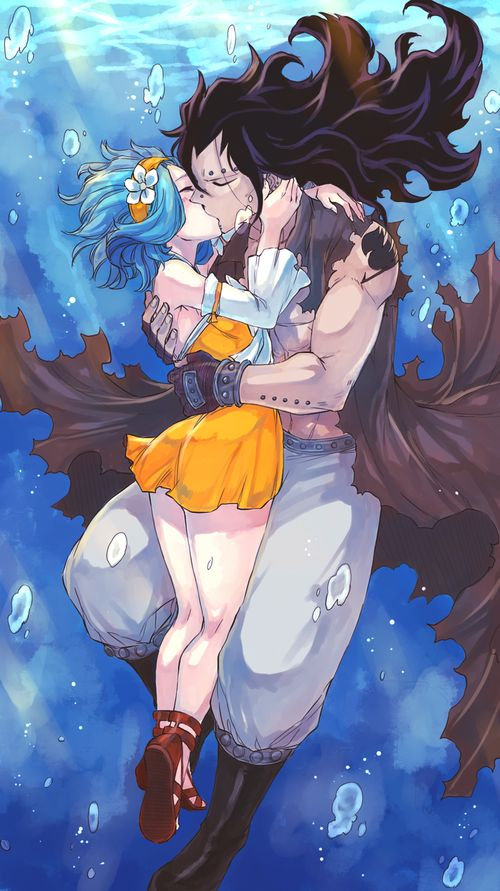 Fairy Tail - Levy x Gajeel