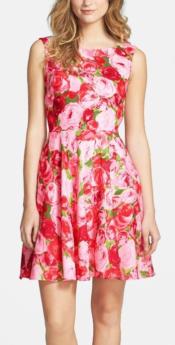 58 best fit and flare dresses images on pinterest cute for Wedding guest dresses sale