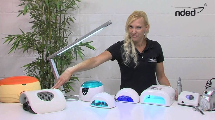 Nail Salon Devices, Equipment Kits, UV Lamp, Pedicure Nail Drill, Electric Manicure Set for Gel Nails. Professional working with nail salon devices such as UV lamp, nail drill and electric manicure sets by NDED, Promed and NAIL-EON that are guaranteed for three years. In our product information video, especially nail design beginners will learn a lot about devices and equipment in professional or private nail salons. #nded #nailsalon #equipment #video www.nded.com