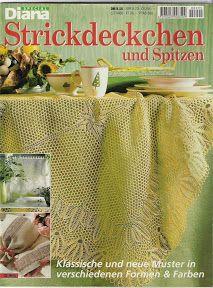 Diana Special - D 995 Strickdeckchen - Alex Gold - Picasa Web Albums