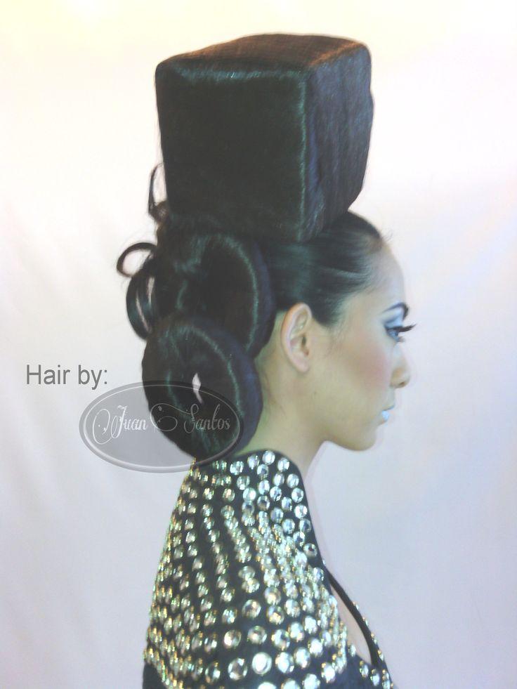 Avante Garde hairstyle by juan santos