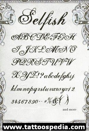Free Tattoo Fonts 9 - http://tattoospedia.com/free-tattoo-fonts-9/
