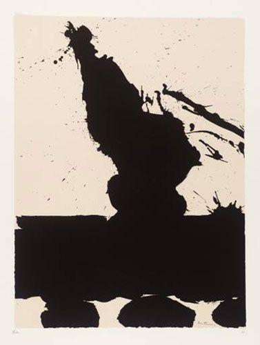 Africa Suite: Africa 2. Robert Motherwell