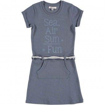 Persival  jurk raf -  model 6110703 - Meisjes  jurk Blauw