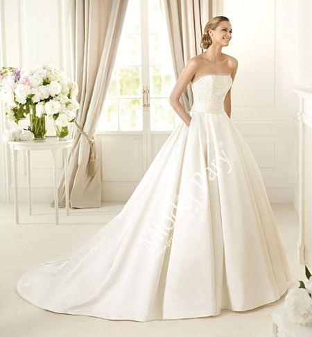 Suknia ślubna Pronovias 2014, model DALAMO