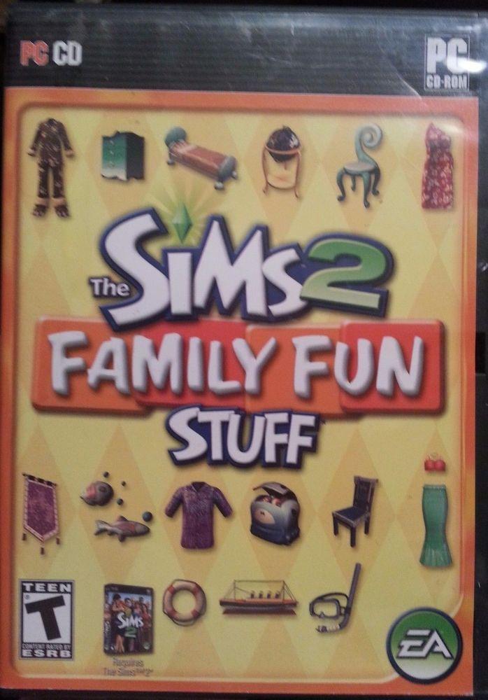 Sims 2: Family Fun Stuff (PC, 2006)   Video Games & Consoles, Video Games   eBay!