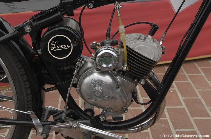 Moto Puma Motorcycles - 1957 'Segunda Serie' 100 Moped