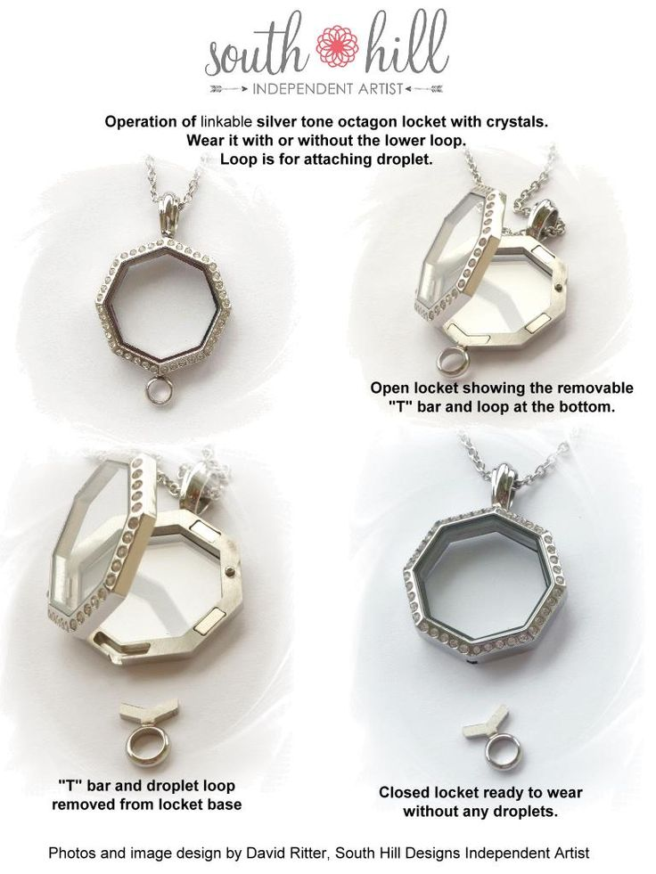 Brand new linkable lockets from South Hill Designs! Www.southhilldesigns.com/leahdawn