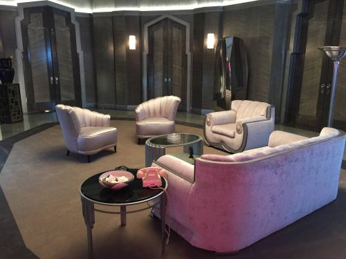 41 best movie interiors images on pinterest architecture for Ahs hotel decor