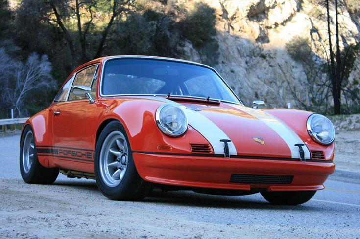 Magnus Walker's 1972 Porsche 911 STR- his own creation.  Droooool.....