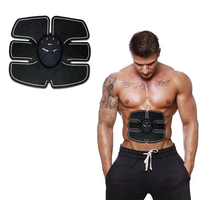 New EMS Remote Control Abdominal Muscle Trainer Smart Body Building Fitness Abs!