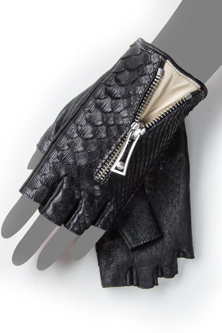 Gaspar leather driving gloves - 92564 Unisex Driving Gloves