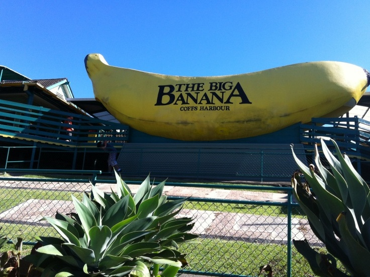 Coffs Harbour - surf camp!!! Ahh went to surf camp and we stopped by the big banana too! Loved that place