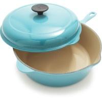 Le Creuset® Fennel Deep Covered Sauté Pan, 3¾ qt. | Sur La Table