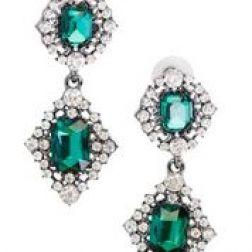 Øreringe med grønne sten fra Madame Bijoux