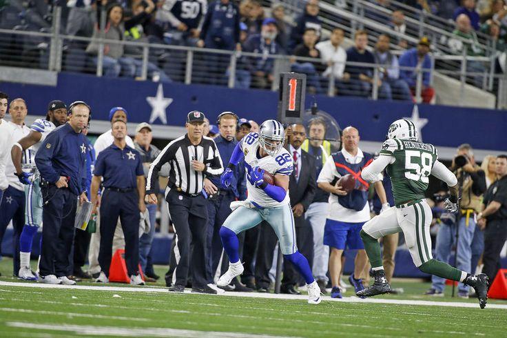 2015 Season, Week 15 Cowboys vs. Jets #82 Jason Witten