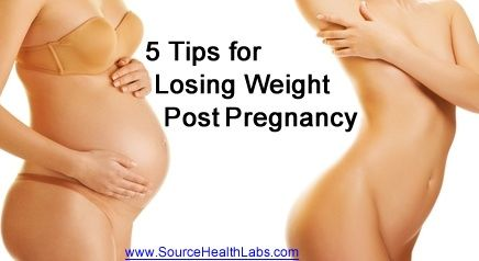 5 Tips for Losing Weight Post Pregnancy