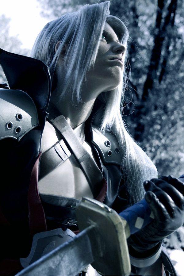 Sephiroth from Final Fantasy VII #cosplay #cosplaydoneright    Cosplayer: NanjoKoji  Photographer: FujimiyaRan  Otaku House Cosplay Idol 2012