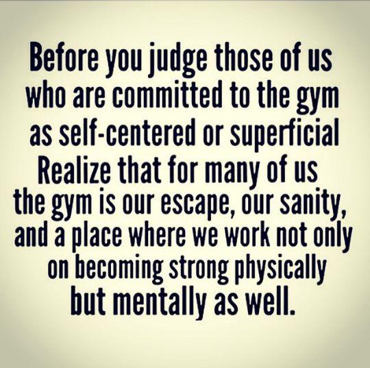 Absolutely true. #gymtimegtd