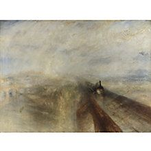 Buy Surface View Joseph Mallord William Turner Rain, Steam and Speed Mural Online at johnlewis.com