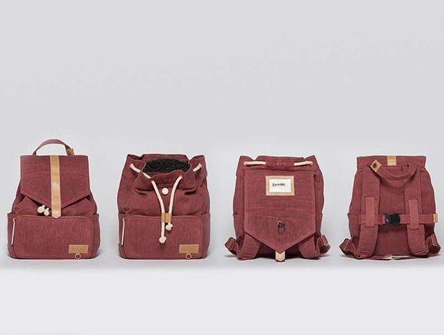 L O V E! One week and this little hipster should be in stock! The coolest kids backpack there is, available for pre-order // Årets kuleste barnehagesekk! Så himla fornøyd med å ha laget denne og det vet vi du blir også, woop-woop ✴www.itskaos.com✴