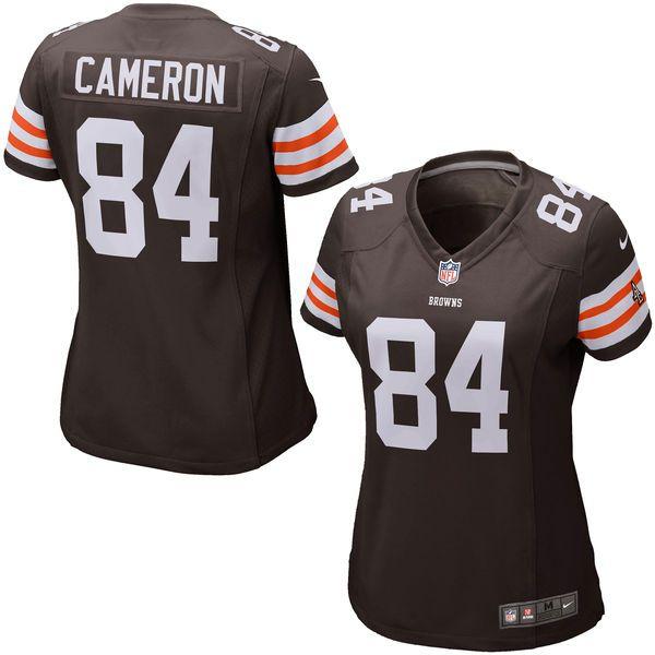 Jordan Cameron Cleveland Browns Historic Logo Nike Girls Youth Game Jersey - Brown - $29.99
