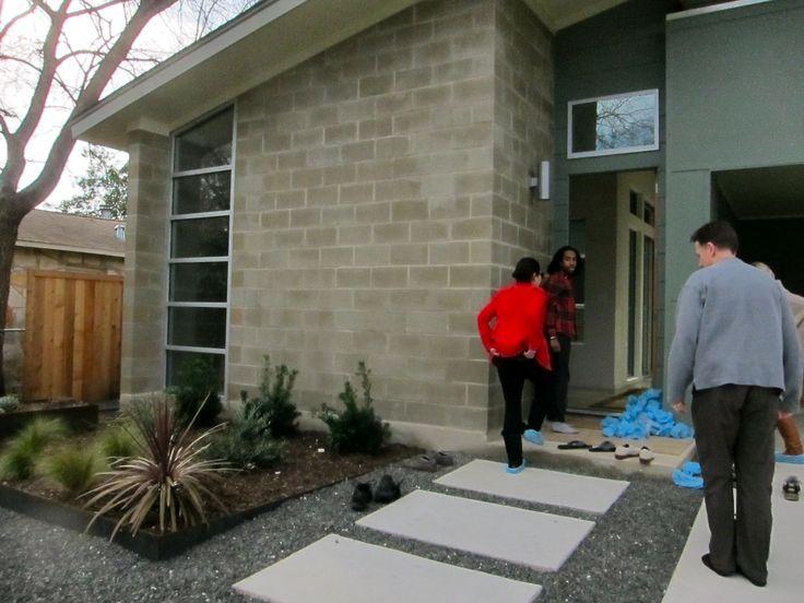 Concrete block house diy