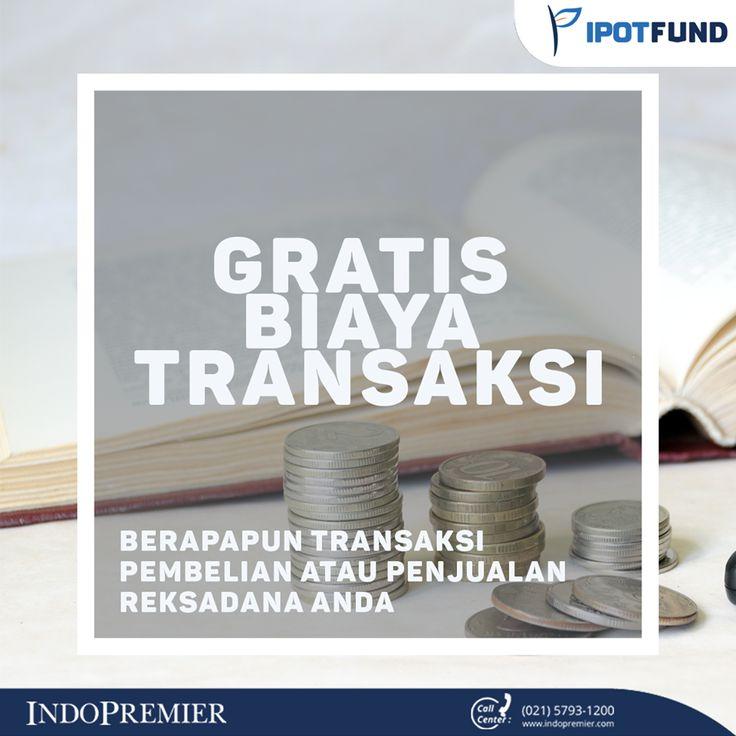 Gratis Biaya Transaksi  #IPOTFUND