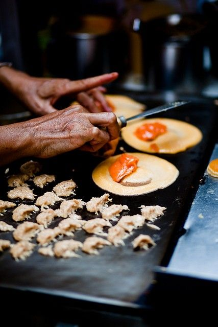 Thai Street Food. Someday I will experience this.