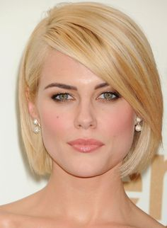 Rachael Taylor Graceful Loose Carefree Short Straight Lace Wig Real Human Hair About 10 Inches