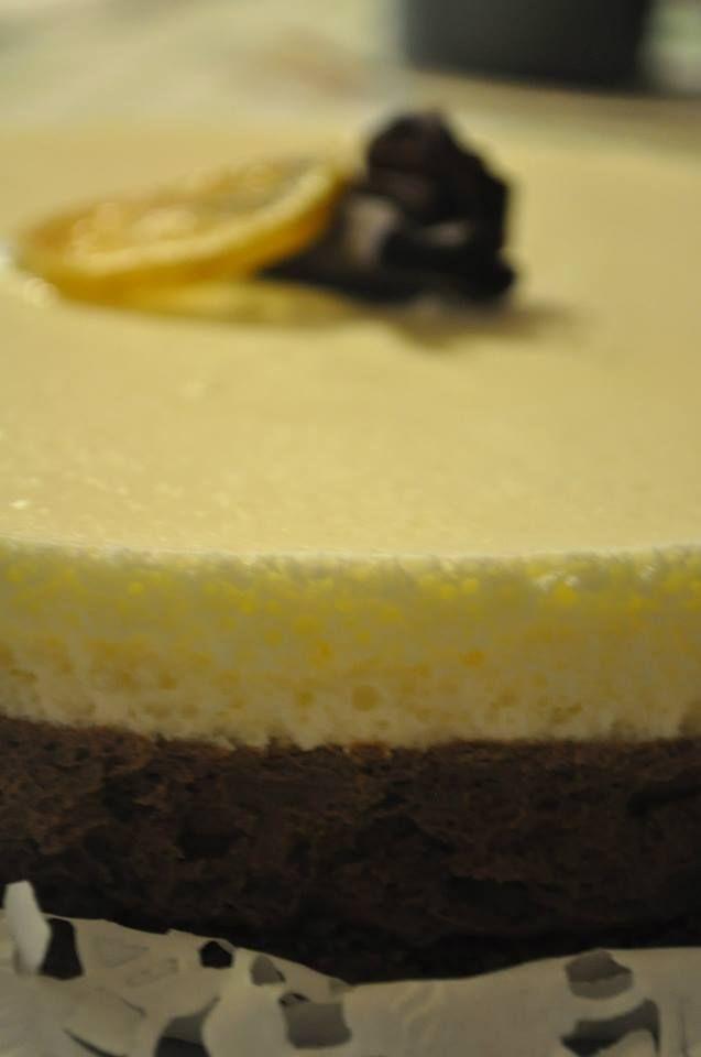 #Torta2Mousses #LimonyChocolate