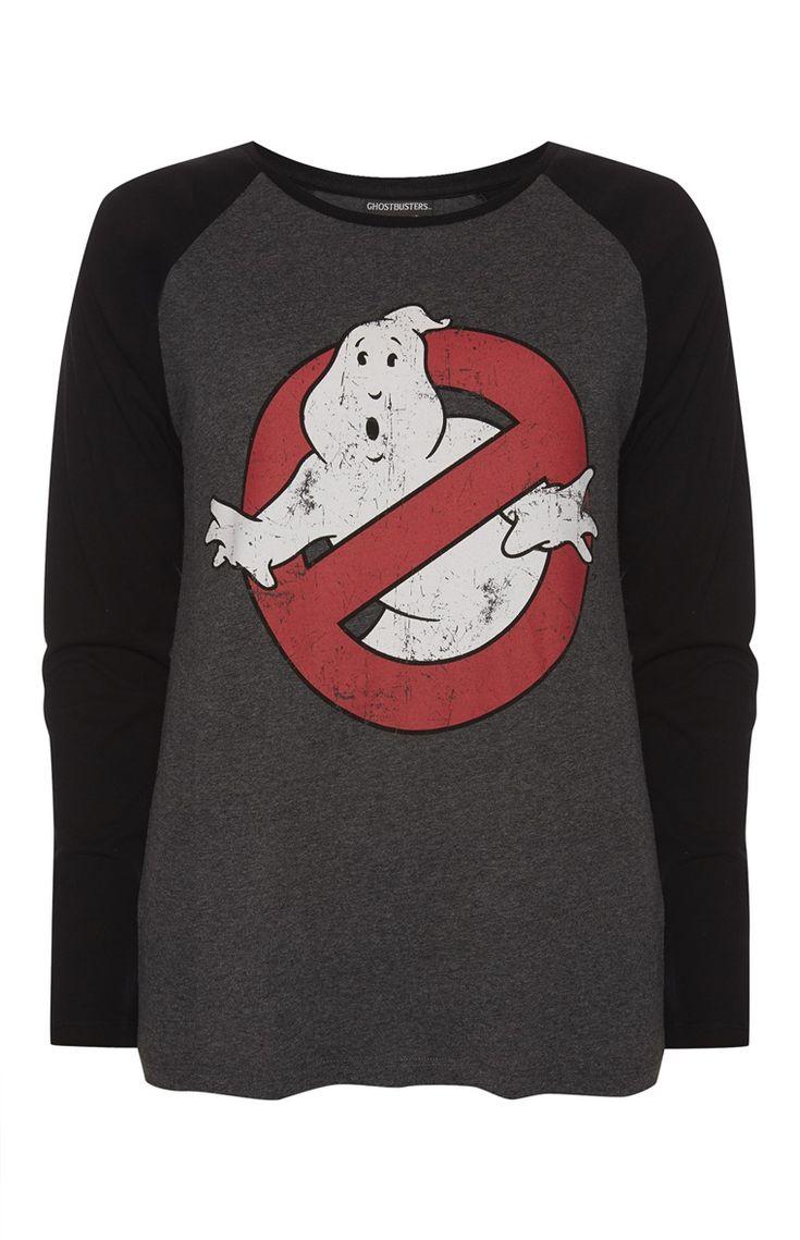 Primark - Ghostbusters Raglan T-Shirt