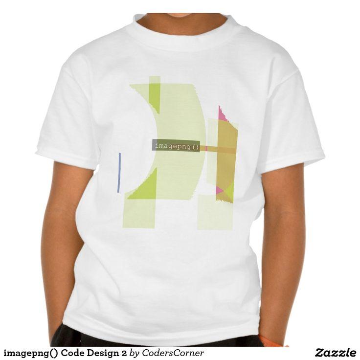 imagepng() Code Design 2 Shirt