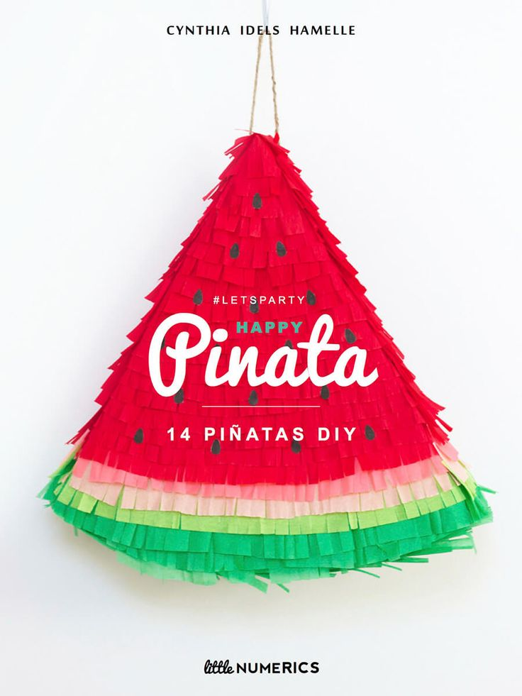 In love with : Happy piñata ♥ - FrenchyFancy