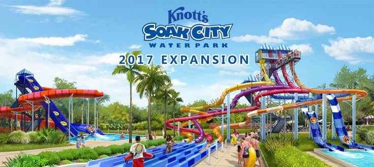 Knott's Soak City water park announces expansion with two new slide towers for…