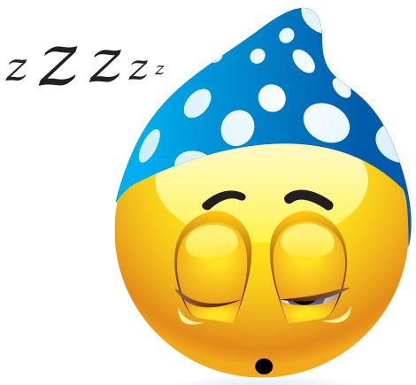 Snoozing Emoticon