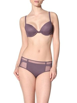 64% OFF Addiction Nouvelle Lingerie Women's Hipster with Mesh (Purple)