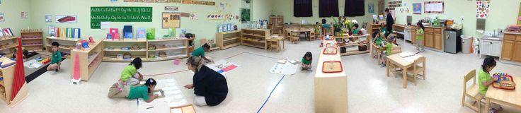 Primary level at the Montessori Ivy, Pembroke Pines, FL