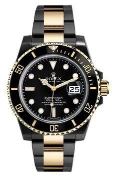 Rolex Submariner 116613 DLC-PVD - Luxury Of Watches