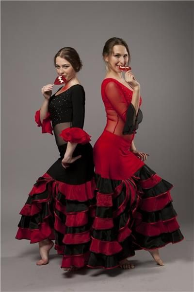 Фото костюмов для испанского танца