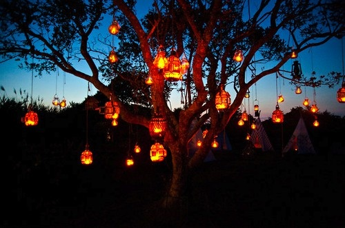 Tree Lanterns ˙ 183 ٠ For The Home ٠ 183 ˙ Pinterest