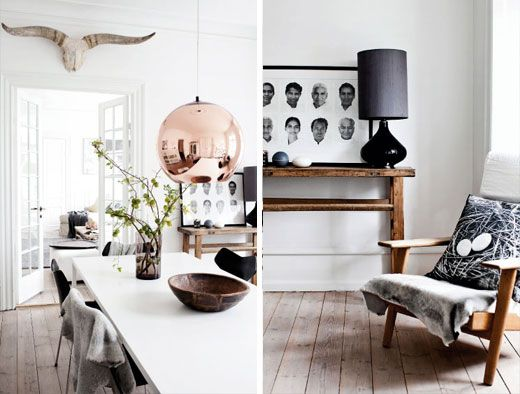 Classic Nordic interior styling