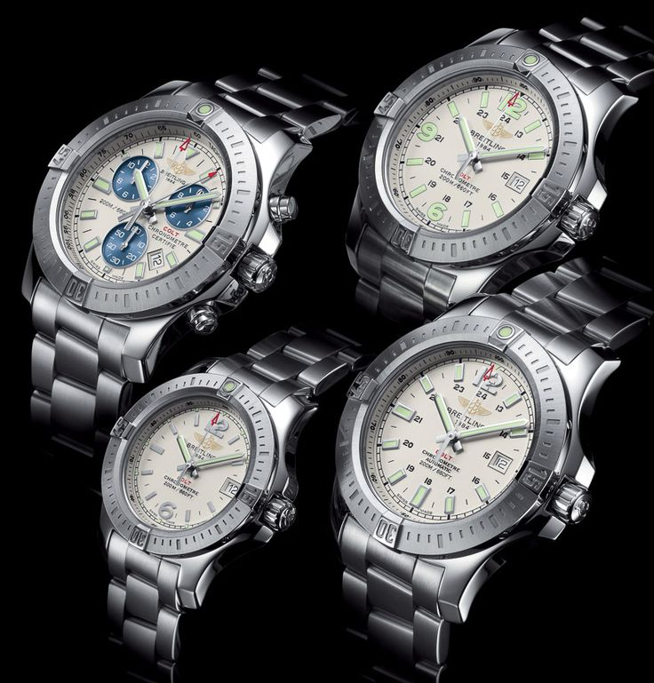 """Breitling Colt Watches For 2014 Fully Embrace High-End Quartz - by Ariel Adams - see more models and read about high-end quartz on aBlogtoWatch.com """"For 2014, Breitling quietly releases a tweaked collection of Colt watches... These new Breitling Colt watches have more Breitling DNA than ever, and there are some things to consider when looking at the new collection. I especially want to discuss the important topic of high-end quartz watches..."""""""