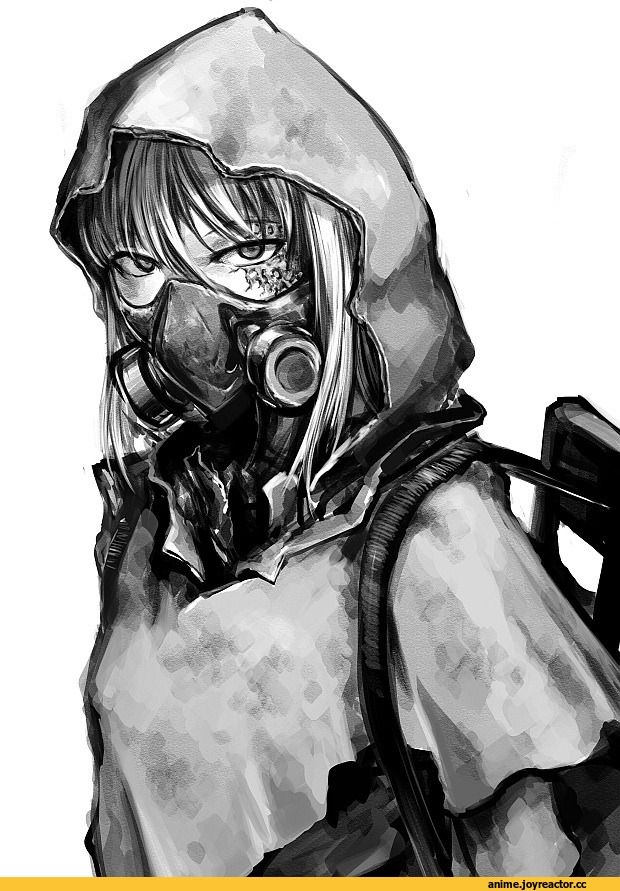 Wallpaper Engine Gun Anime Girl Hellshock Anime Original Ao Anime аниме Anime Art Аниме